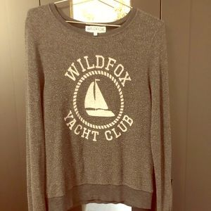 "Wildfox cozy ""yacht club"" sweatshirt"